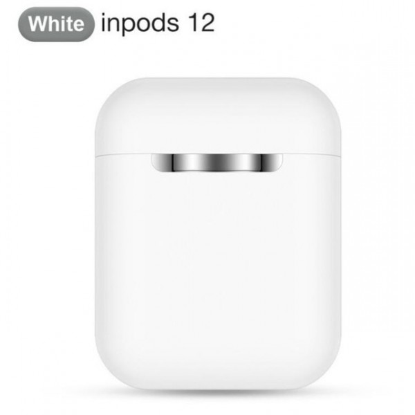 (White only) Inpods12 TWS Pop up Earphones i12 Wireless Bluetooth Earbuds Original super bass Headphones sport stereo headset (Shipping from U.S)